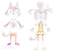 Sylvia as Cure Sunny by luis831
