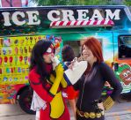 bro lady time is ice cream time by neoangelwink