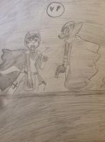 The phantasm and the vigilante by TheDogwhitaTail