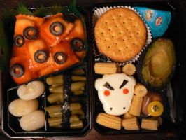 9 Mad Cow Bento by myfairygodmother