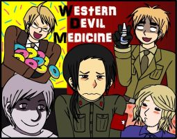 Western Devil Medicine Cover Page by thingy-me-jellyfis