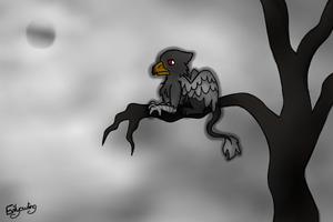 Dark Griffin by evilyowling
