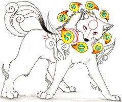 amaterasu beads by Suenta-DeathGod