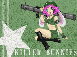 killer bunny by alaisiaga