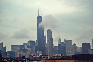 Cloudy Chicago by MakyPospi
