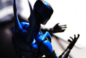 What am I ...- Blue Beetle by Schpog