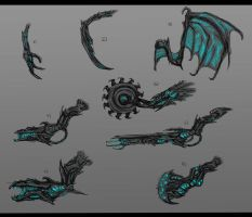Sovereign Swarm - Arm Variants - Concepts by SwarmCreator