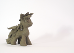 Clay sculpture Pony by IntetX