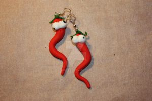 Crazy peppers by arttigrees