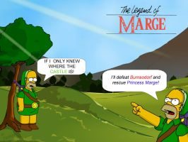 TLOM - Homer To The Rescue by Trilyan