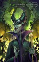 Maleficent | Speedpaint by RaideDeviant