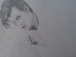 The Eleventh Doctor WIP 2 by Jucchan