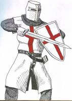 Templar Knight by IronFrenzy12