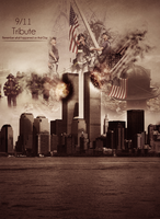 9-11 Tribute by RicanFx