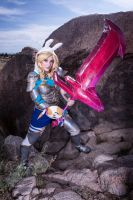 Redeemed Fionna Cosplay by Justicarsirena