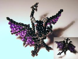 Chad's Beaded Dragon by Line-of-Birds