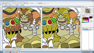 Szardo Color WIP by GysKing1