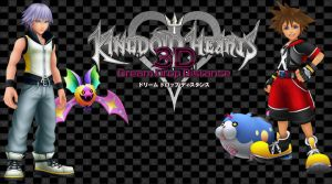 Kingdom Hearts 3D Wallpaper: Sora n Riku's Spirits by AzuraJae