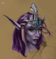 Night Elf Druid by DiosaWoW
