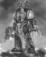Space Marine WIP 4 by Nowio