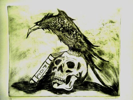 Quoth the Raven by Mxdmediem