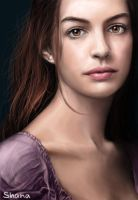 Anne Hathaway as Fantine in Les Miserables by ShanaGourmet