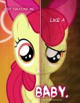 MLP - Two Sides of Apple Bloom by TehJadeh