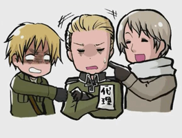 Trying To Annoy Germany [GIF] by TsunaUsui10