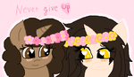Gift:Good girls never give up by cottoncloudyfilly