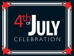 4th of July sign by ccura