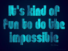 To Do the Impossible by Textuts