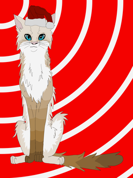 Otterkit Christmas - For WolfBloodAdopts by Havenspirit-LeafClan