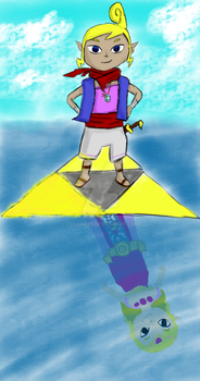 Tetra, Wielder of the Triforce of Wisdom by tsvlink25