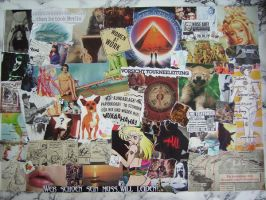 COLLAGE EYE OF THE BEERHOLDER by FRANTASEE
