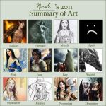 2011 art summary meme by NicoleCadet