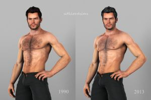 Aitor Allivez-yesterday and today by sithlordsims