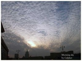 morning sky by Galaher