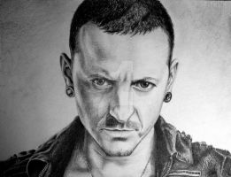 Chester Bennington 11 by skepticmeek