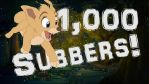 1,000+ YouTube Subbers! by DreamstartheWarrior