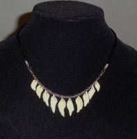 Gar Scale Necklace by Magelet