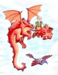Philip's Dragon by Onanymous