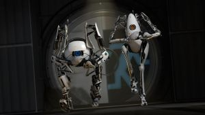 Portal 2 - Wallpaper 1 by alealienn