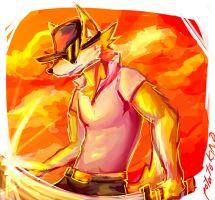 fox!Bro Strider by eneleven