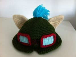Teemo Hat by babyveggies