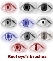 kool eyes brushes by koolprincein
