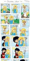 School time page 1 by Drawing-Heart