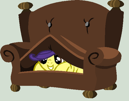 lol couch y u so fluffeh by LittleCloudie