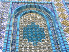 Dome of the Rock Window by IronMantis