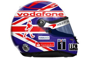 New Jenson Button Helmet by engineerJR