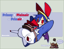 Prinny Pleinair by Paradigm-Zero